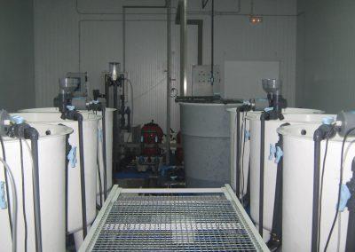 Centro de acuicultura de Segovia